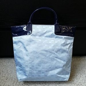 Handbags - NWOT Blue and green tote bag